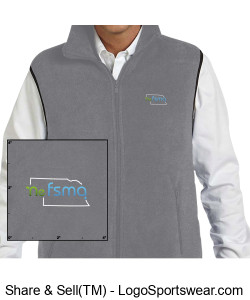 Men's Fleece Vest Design Zoom