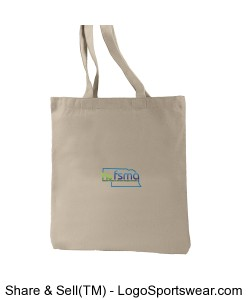 Econscious 100 % Recycled Cotton Everyday Tote Design Zoom